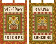 Sunflower Bouquet Banners project - Angela Anderson