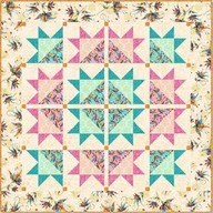 Flower Fantasy Wall Quilt project - Ellie Records